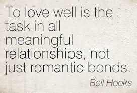 bell hooks on love
